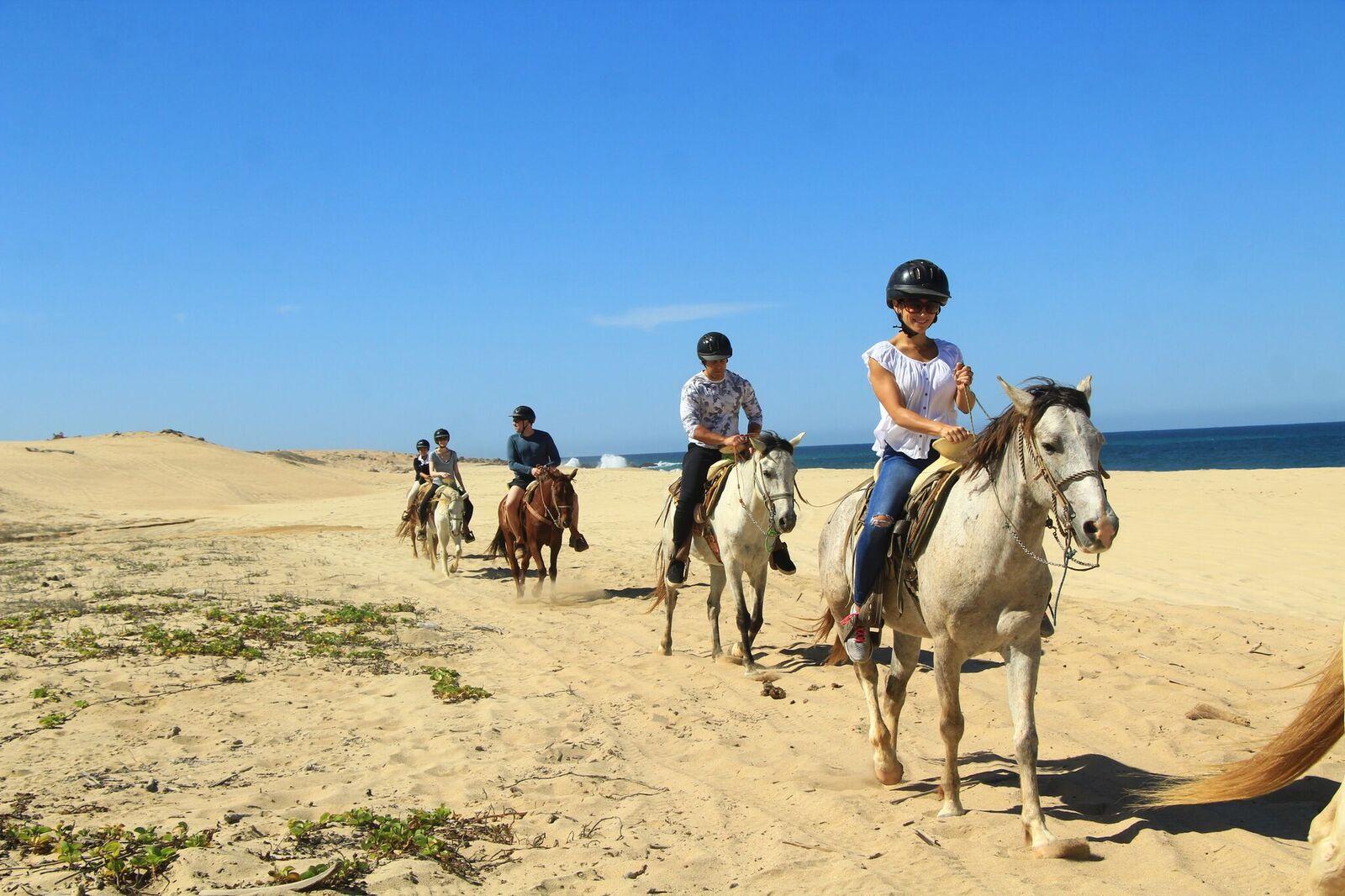 Beach Horseback