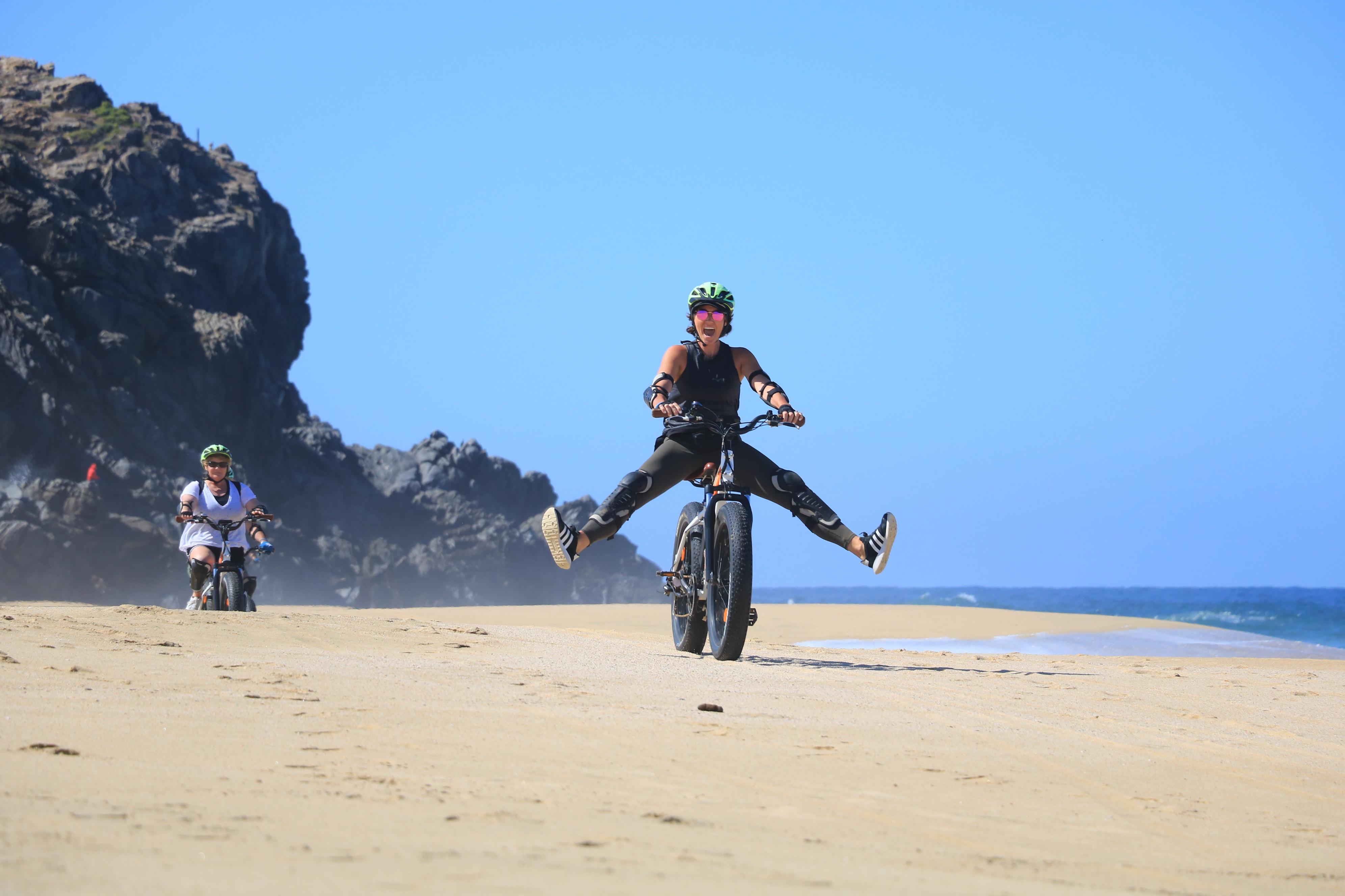 Electric Bike Beach Adventure